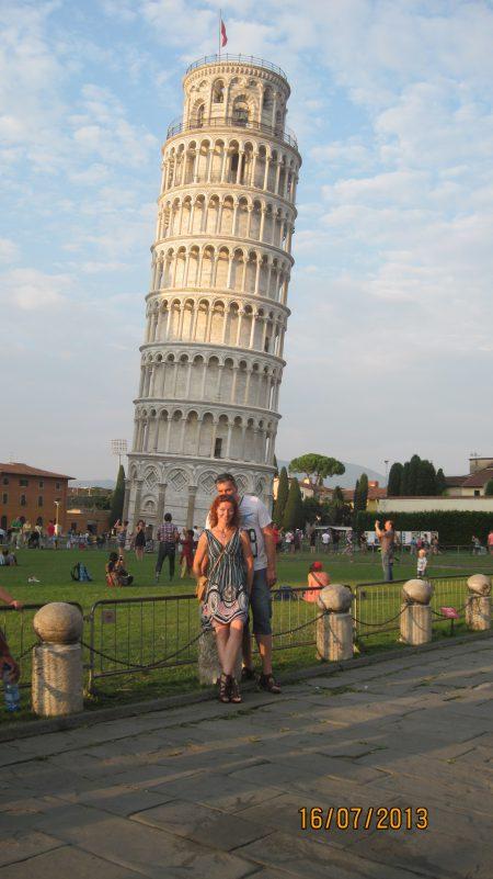 Pisa i San Giminiano Toskania 2013 021